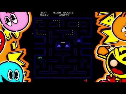 Pac-Man Gameplay (Bad) (RIP Masaya Nakamura)