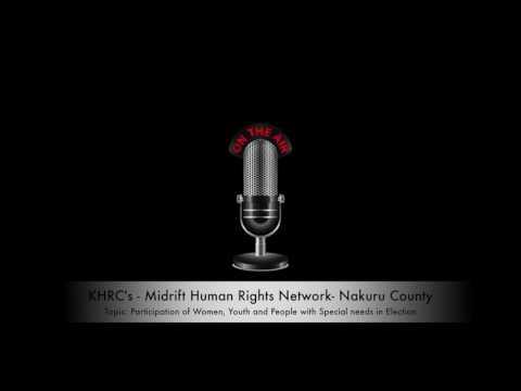 Midrift Human Rights Network - HURINET on Radio Amani