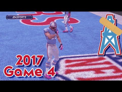 Madden 15 Franchise Mode - Houston Oilers | Season 4, Game 4 vs Jaguars | Return of Whisenhunt