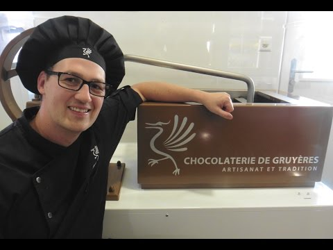 Artisan chocolate tour in Gruyere, Switzerland - How to make chocolate