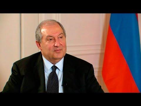 Президент Армении Армен Саркисян: Все разногласия должны быть решены в соответствии с Конституцией