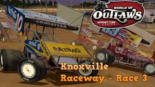 Knoxville Raceway - Race 3 (World of Outlaw Sprint Cars)
