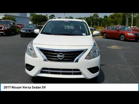 2017 Nissan Versa Sedan DeLand Nissan R401