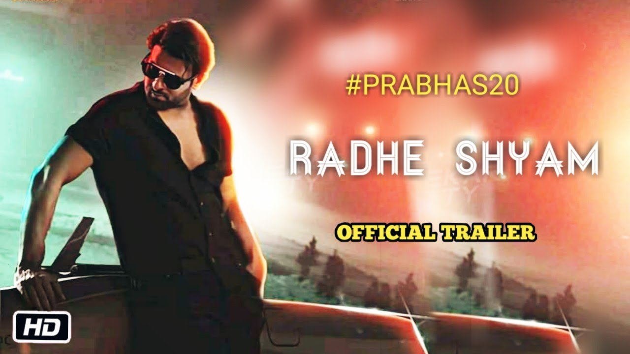 Prabhas 20 Radhe Shyam Movie Official First Look Prabhas Pooja Hegde Radha Krishna Kumar Youtube