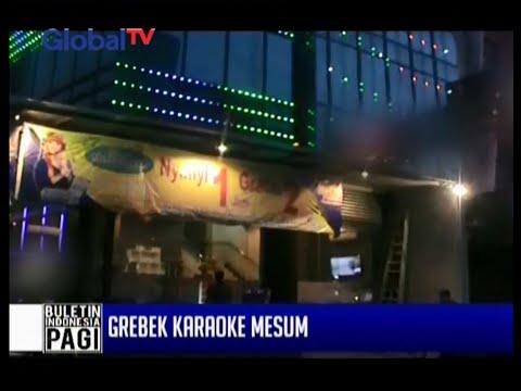 Diduga kerap dijadikan lokasi perdagangan wanita, karaoke keluarga di Medan digerebek - BIP 17/03