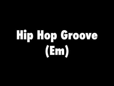 Hip Hop Groove Backing Track (E Minor)