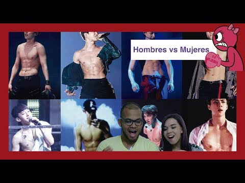 #HombresVsMujeres || Bonus Mujeres || EXO Abs + The Eve Dance Practice MV Video Reaction
