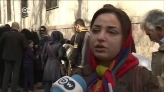 إقبال كبير على مراكز الاقتراع في انتخابات يراهن عليها روحاني لتعزيز سلطاته   الأخبار