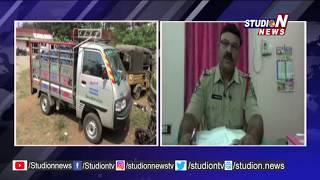 Duvvada Police Seized Vehicle Transporting Tobacco, Gutka