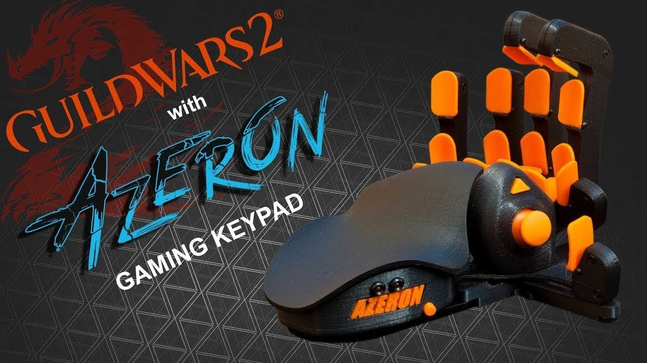 Guild Wars 2 with Azeron gaming keypad