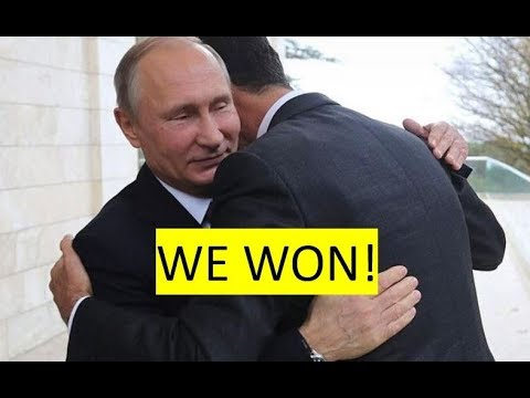 Where's NATO? Putin, Assad win Syrian war