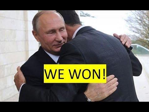Where's NATO? Putin, Assad win Syrian war