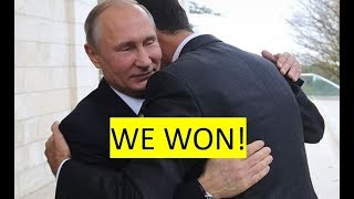 Putin, Assad win Syrian war, From YouTubeVideos