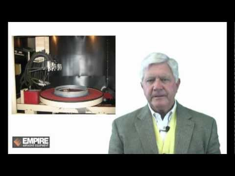 Empire Rotary Head Air Blast Equipment Video