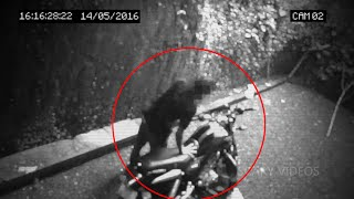 Boy Attacked by Ghost Caught on Cctv Camera, Breath Taking Ghost Attack Footage