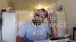 Best Auto Insurance for a Boxtruck Conversion