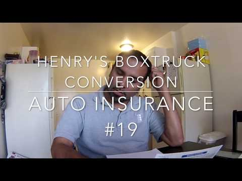 Best Auto Insurance for a Boxtruck Conversion