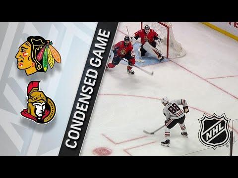 01/09/18 Condensed Game: Blackhawks @ Senators