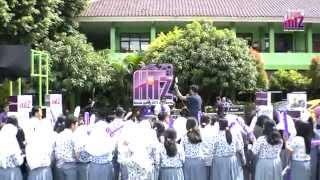 Panggung Kejutan HITZ FM Bersama YAMAHA di SMAN 101 Joglo Jakarta Barat dengan HIVI
