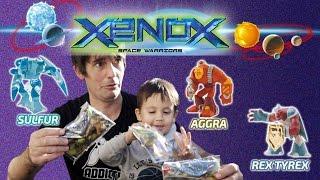 Opertura sobres de los XENOX space warriors