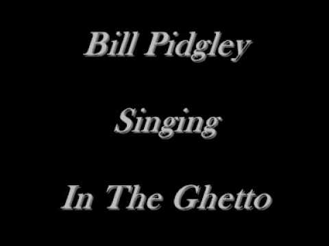 Bill Pidgley - In The Ghetto - Elvis Presley Cover - CD's On eBay Just Type Bill Pidgley