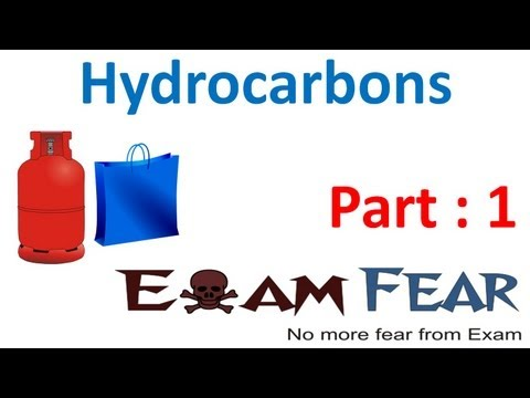 Chemistry Hydrocarbon part 1 (Introduction) CBSE class 11 XI