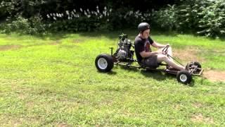 15 HP 5-Speed Go Kart Build Part 6- It