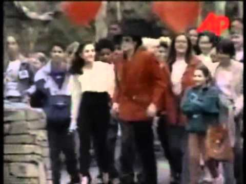 Michael Jackson and Lisa Marie Presley - Rare Moments