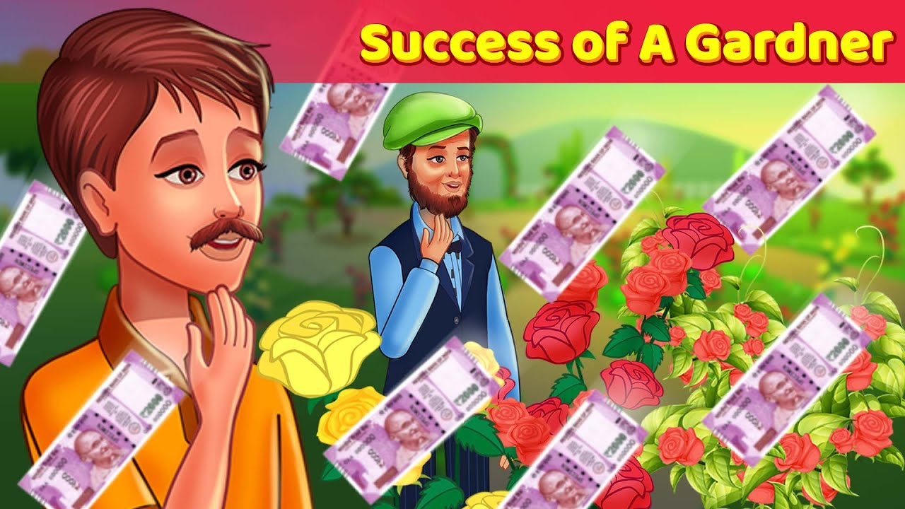 3 Moral Stories for Kids – Success of A Gardner, Helping Needy people, Keeping a Secret