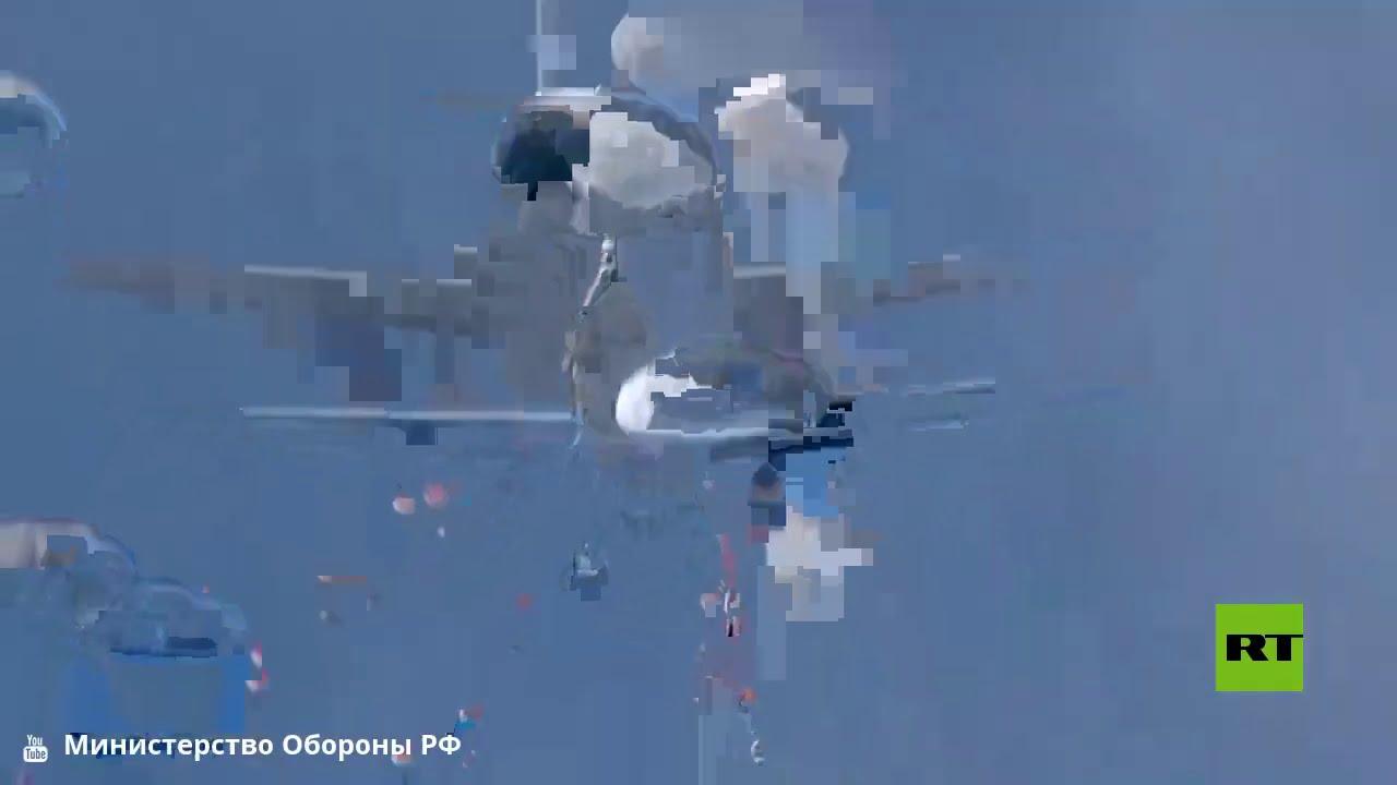 الدفاع الروسية تنشر فيديو للإنزال الجوي الجماعي في مقاطعة كوستروما  - نشر قبل 4 ساعة