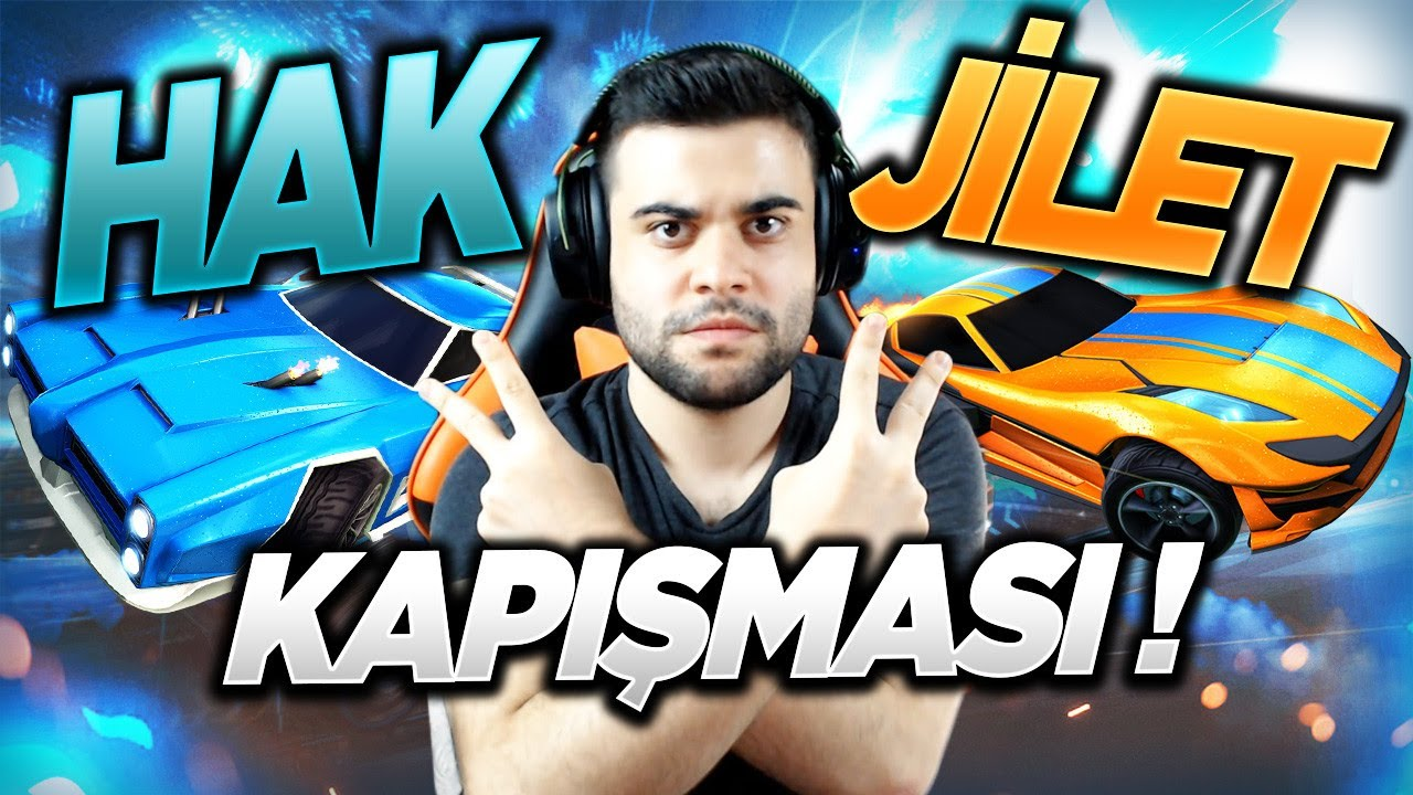 HAK TAKIMI VS JİLET AİLESİ (ROCKET LEAGUE)