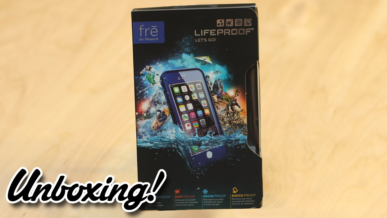 half off 8bf36 d4a6e Unboxing: LifeProof iPhone 6/6s Case - Fre (Dark Cobalt Blue) (2015)