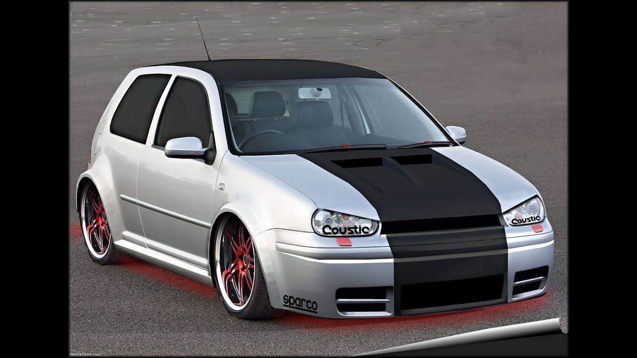 volkswagen golf iv virtual tuning 2 youtube. Black Bedroom Furniture Sets. Home Design Ideas