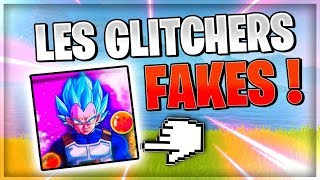 FORTNITE FAKE GLITCHERS (vegeta glitcher, ...)