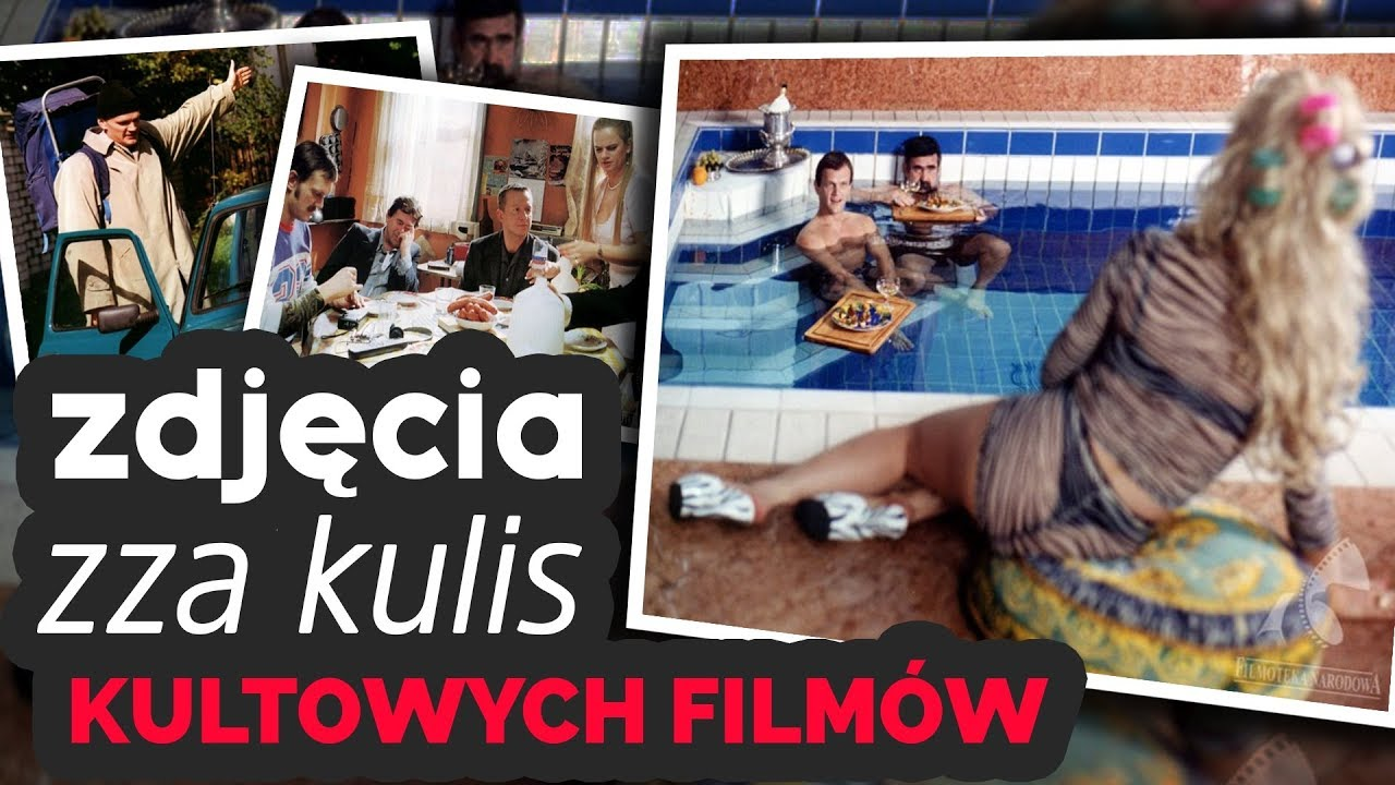 ZDJĘCIA ZZA KULIS KULTOWYCH FILMÓW!