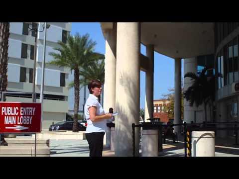 FIJA Activism Hillsborough County Courthouse Tampa Florida