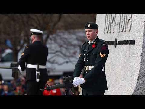 Remembrance Day Ceremony, National War Memorial
