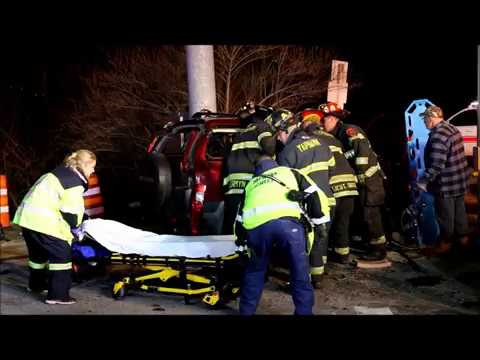 MOTOR VEHICLE ACCIDENT WITH ENTRAPMENT IN YAPHANK NY