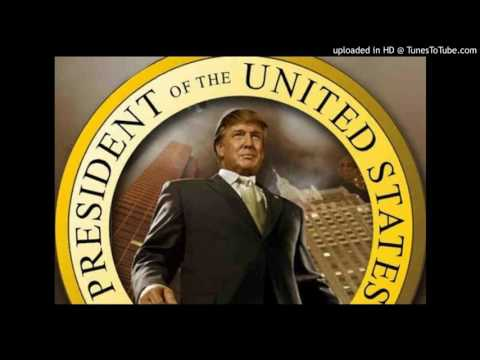 Donald Trump Anthem My president is black parody