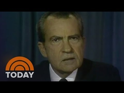 President Nixon Resigns: Watergate Scandal | Archives | TODAY