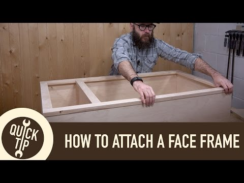 How to Make and Attach a Face Frame
