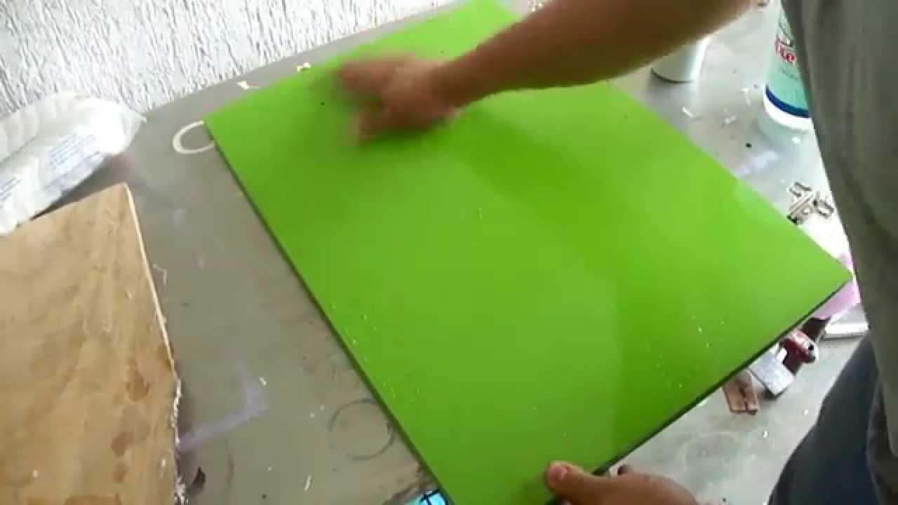 Como pulir madera pintada y o barnizada youtube - Como pintar una pared ya pintada ...