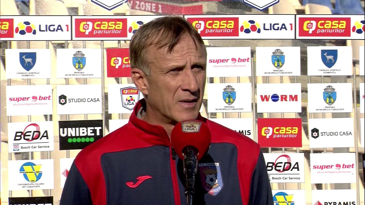 INTERVIU: Emil Săndoi, modest, după ce a adus Chindia pe locul patru în Casa Liga 1