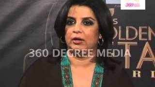 Farah Khan On India's Got Talent, Colors show's Great & Different- Colors Golden Petal Awards 2012