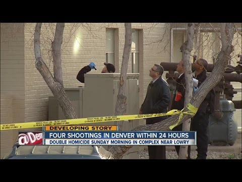 4 shootings in Denver within 24 hours