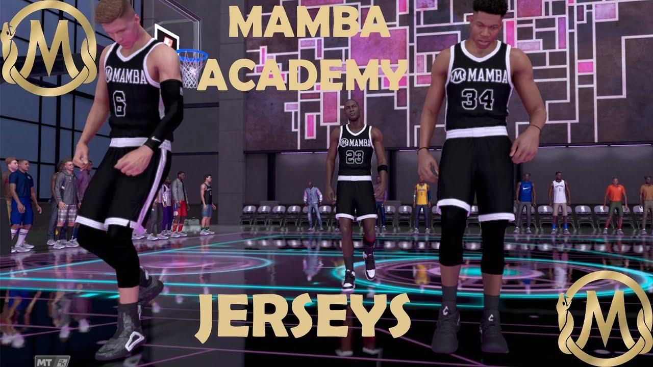 NBA2K21 MAMBA ACADEMY/KOBE JERSEY CREATION *EASY* HOME & AWAY DESIGNS! EASIEST JERSEY TUTORIAL!
