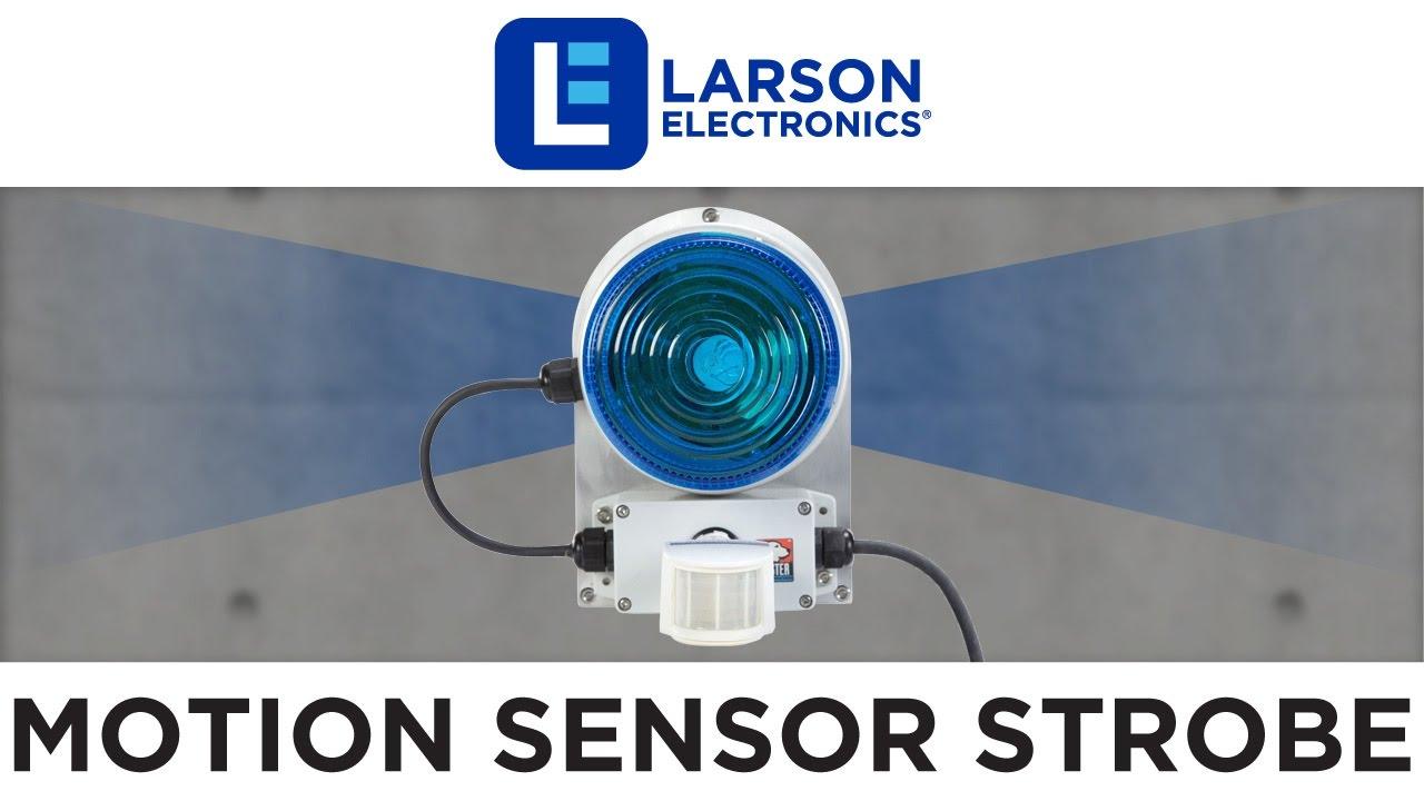 Cl Ii Strobe Light With Motion Sensor