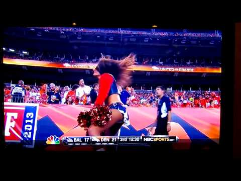 Denver Bronco Cheerleader