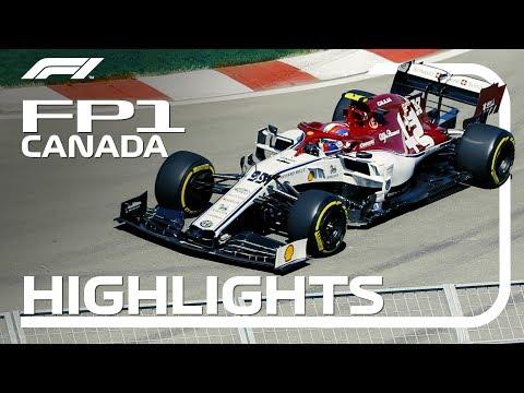2019 Canadian Grand Prix | FP1 Highlights