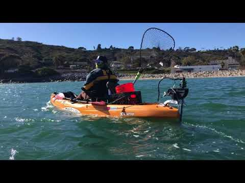 2 Malibu x-factors with trolling motor in San Diego bay